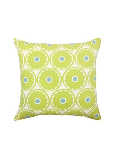 The Pillow Collection 18 Jasmine Pillow, Green
