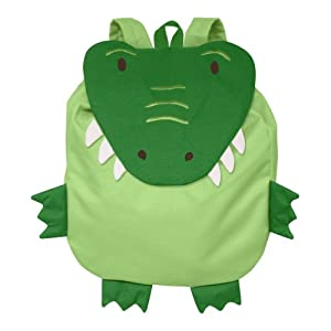 Geen Sprouts Safari Friends Backpack Alligator