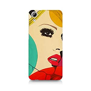 Ebby Vintage Chick Premium Printed Case For HTC Desire 826