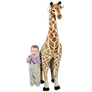Large Stuffed Plush - Giant Giraffe