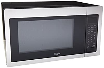 Whirlpool WMC30516AS 1.6 Cu. Ft. Stainless Steel Countertop Microwave