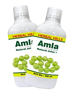 Herbal Hills Amla Juice - 500 ml (Combo)