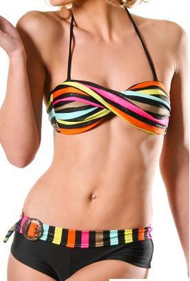 Maillots de bain femmes: Le bikini glamour