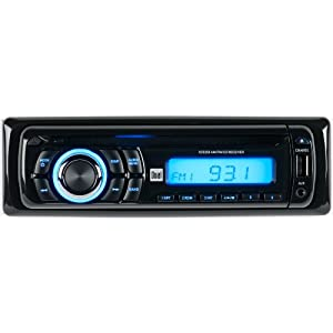7. Dual XD5250 In-Dash CD/CD-RW Car Stereo Receiver with Remote and Front Panel USB Charging Port and Aux Input. Precio: $43.22