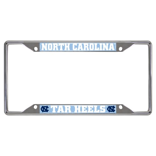 FANMATS NCAA UNC University of North Carolina - Chapel Hill Tar Heels Chrome License Plate Frame (Farm License Plate Frame compare prices)