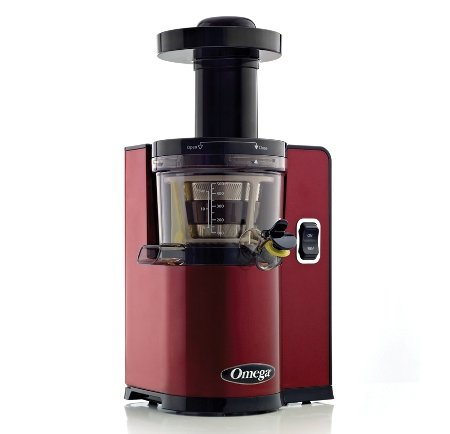 Omega vERT Slow Juicer vSJ843QR, Square version, Red Home Garden Kitchen Dining Kitchen ...