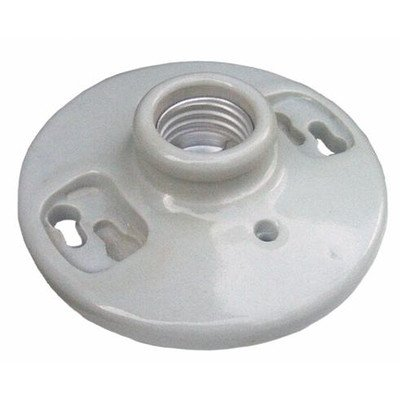 Morris Products 82110 Porcelain Receptacles Keyless Screw Terminals
