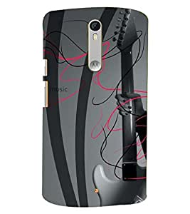 PRINTSWAG GUITAR Designer Back Cover Case for MOTOROLA MOTOX PLAY