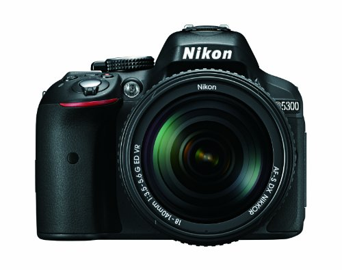 Read About Nikon D5300 24.2 MP CMOS Digital SLR Camera with 18-140mm f/3.5-5.6G ED VR AF-S DX NIKKOR...