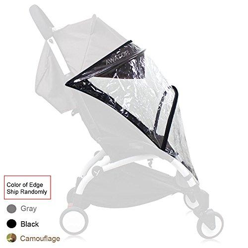 Weather Shield, Rain Cover, Plastic Clear Netting for Babyzen YOYO Stroller