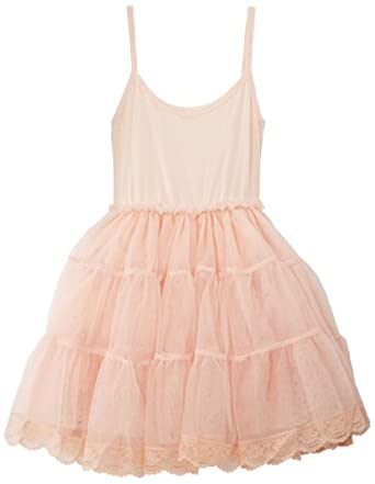Molly Bracken MMSM5303E14 - Robe - Uni - Fille - Rose (Rose Pétale) - FR: 5 ans (Taille fabricant: 4/6 ans)