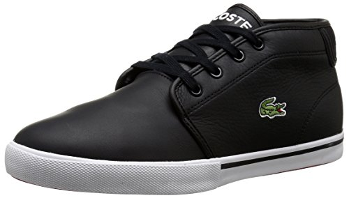 Lacoste Men's Ampthill Lcr3 Shoe, black, 9.5 M US