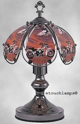 14 Inch Motorcycle Touch Lamp