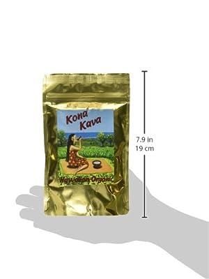 KONA KAVA Premium Powdered Kava Root Plus (4oz)