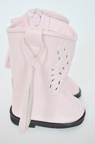 PINK COWGIRL BOOTS FOR AMERICAN GIRL DOLLS