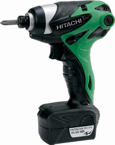 Hitachi WH10DL/JL Cordless Impact Driver, 10.8V,