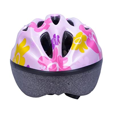 Girls Bicycle Skating Scooter Helmet in pink size:50-60cm by Powerbank2013