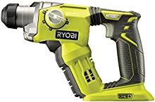 Comprar Ryobi R18SDS-0 - Martillo rotatorio (18V, 2,08 kg, Negro, Verde, 96,2 Db)