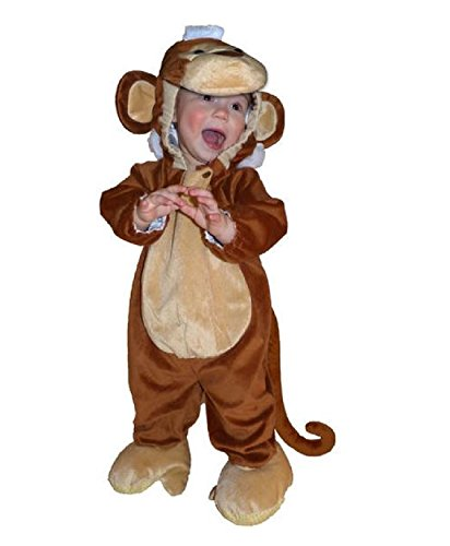 Totally Ghoul Plush Monkey Jumper Baby Halloween Costume