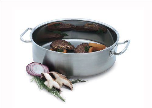 Vollrath 47762 Intrigue Mirror Finish S/S 24 Qt Brazier