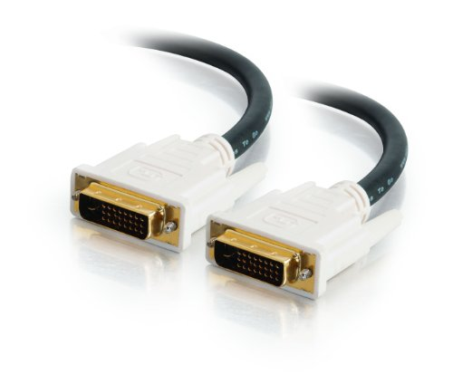Cables To Go 26911 DVI-D Male/Male Dual Link Digital Video Cable,Black(2 Meter/6.56 Feet)