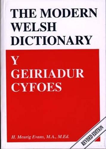 Y Geiriadur Cyfoes / Modern Welsh Dictionary: Y Geiriadur Cyfres