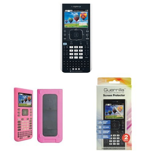 texas-instruments-ti-nspire-cx-graphing-calculator-with-guerrilla-protective-silicone-case-pink-and-