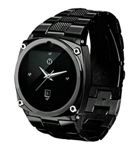 GSM Unlocked Quadband Bluetooth Mobile Phone Watch 1.5inch Touch LCD 1.3mp Camera Single SIM Standby Support Java Bluetooth MP4