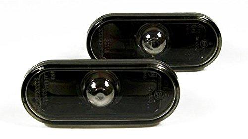 VW Golf Jetta MK4 4 Passat B5 B5.5 Black Smoke Side Marker Lights Turn Signals (Mk3 Side Marker compare prices)
