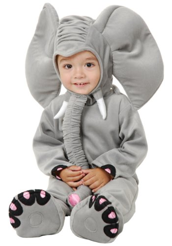 Charades Llc Unisex Child Little Elephant Baby Costume