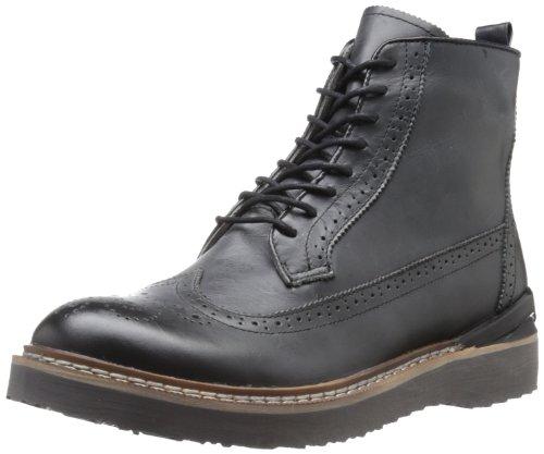 STEVE MADDEN 史蒂夫·马登 Chromme  男款真皮雕花短靴 $37.5(约¥350)