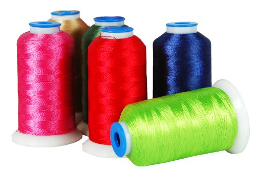 Polyester Embroidery Thread No. 102  1000M Picture