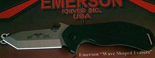 Emerson Bulldog Sf With Plain Stonewashed Blade