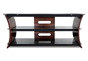 BELL'O INTERNATIONAL CW356 Curved Wood Flat Panel A/V System