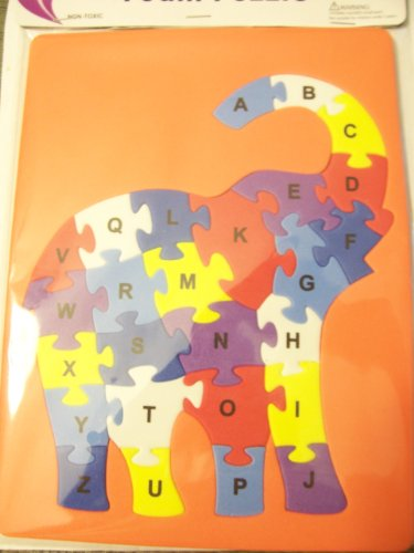 Kingsbridge Foam Puzzle ~ Alphabetical Elephant - 1