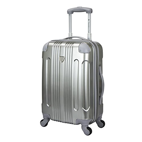 travelers-club-luggage-polaris-20-inch-met-hardside-expandable-spin-carry-on-luggage-silver