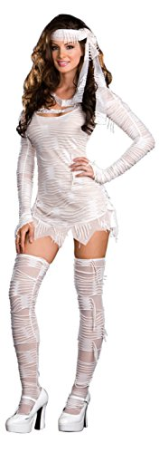 Dreamgirl Womens Egyptian Sexy Yo Mummy Theme Party Fancy Halloween Costume