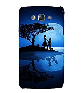 printtech Love Couple Night Propose Back Case Cover for Samsung Galaxy Grand 2 G7102 / Samsung Galaxy Grand 2 G7106