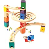 Hape - Quadrilla - Round About - Marble Railway in Wood