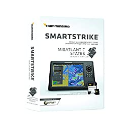 Humminbird 600047-1 SmartStrike Mid-Atlantic States Map Card