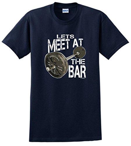 Let'S Meet At The Bar T-Shirt Xl Navy