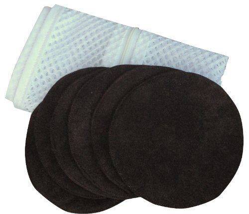 Set Of Six Washable Nursing Pads By Peepods front-637568