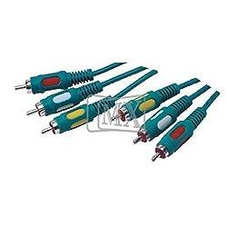 MX 3 RCA PLUG TO 3 RCA PLUG CORD (DUAL LINK) MX-1205
