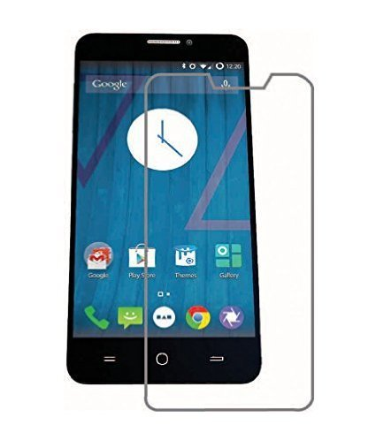 JAIFAON Premium Tempered Glass Screen Guard Protector For Micromax Yu Yureka (Clear)