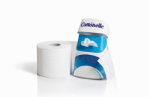 The Cottonelle Care Routine combines toilet paper and flushable wipes to leave you feeling cleaner and fresher