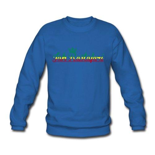 Spreadshirt, jah rastafari, Men's Sweatshirt, royal blue, L