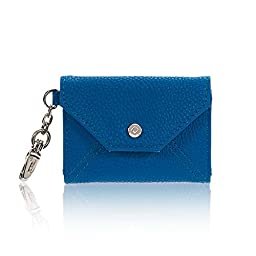 Thirty One Letters From London Wallet in Darling Cobalt Pebble - No Monogram - 6201