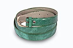 Women green casual wear belt