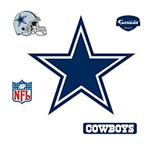.com : Dallas Cowboys Logo Vinilos decorativos : Sports & Outdoors