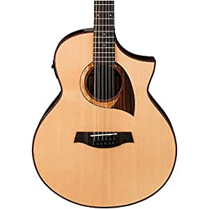 Ibanez Exotic Wood AEW2212CD NT 12 String Acoustic Electric Guitar Natural available at Amazon for Rs.71099